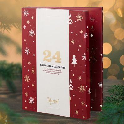 Bild av Xocolatl Chokladkalender - Adventskalender 2021, Röd