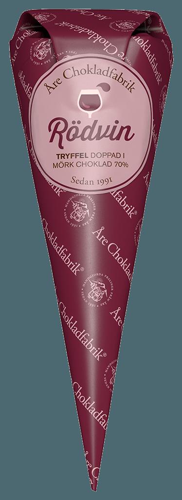 Bild av Rödvinstryffel - Choklad från Åre Chokladfabrik