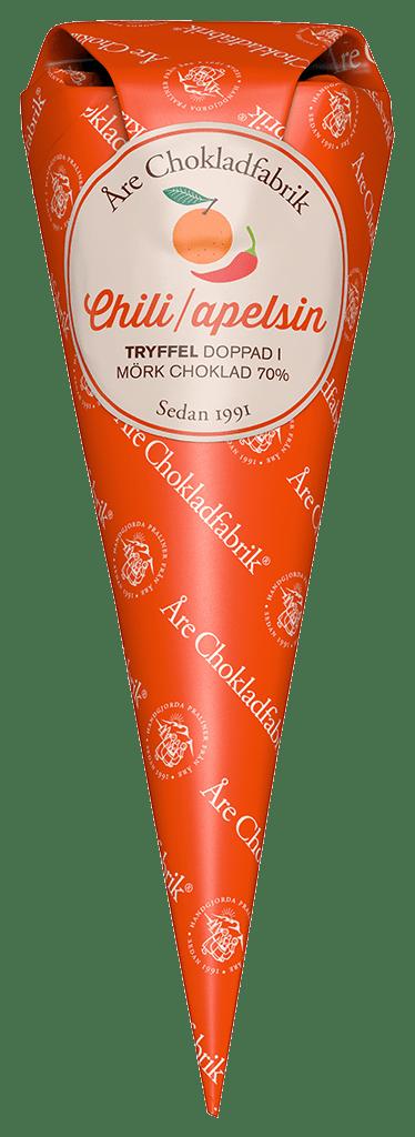 Bild av Chili/Apelsintryffel - Choklad från Åre Chokladfabrik