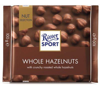 Bild av Ritter Sport Whole Hazelnuts 100g