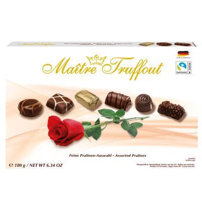 Bild av Maitre Truffout Assorted pralines rose 180g