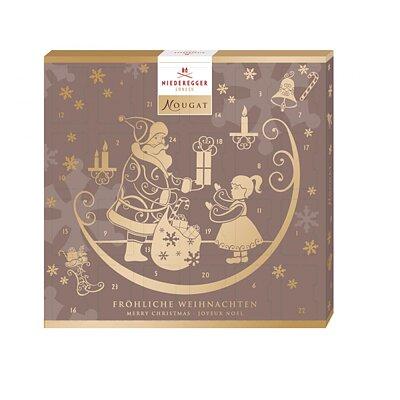 Bild av Chokladkalender med nougat från Niederegger