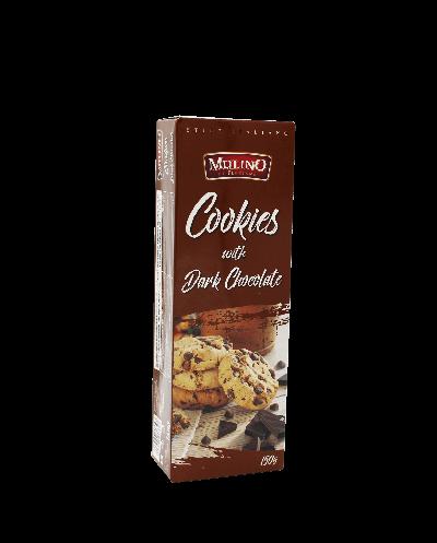 Bild av Mulino Cookies Dark Chocolate 150g