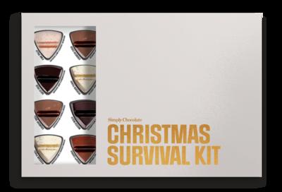 Bild av Chokladask 'Christmas Survival Kit' - Simply Chocolate