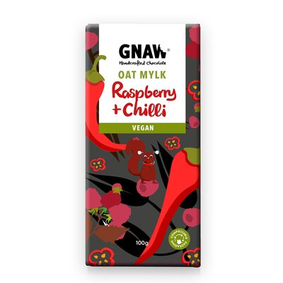 Bild av Chokladkaka Oat Mylk Raspberry & Chili