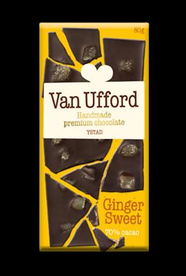 Bild av Chokladkaka Van Ufford Ginger Sweet Ekologisk