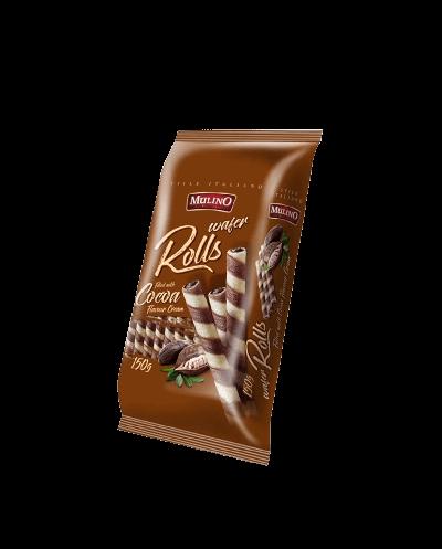 Bild av Mulino Wafer Rolls Cocoa Cream 150g