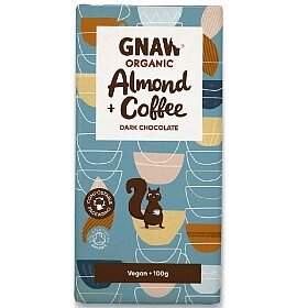 Bild av Chokladkaka Dark Chocolate Almond & Coffee Ekologisk