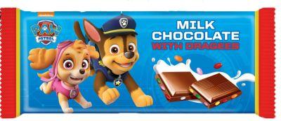 Bild av Paw Patrol Mjölkchokladkaka 90g