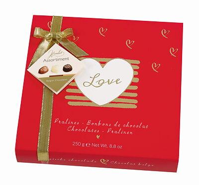 Bild av Darling - Röd Chokladask med belgiska praliner