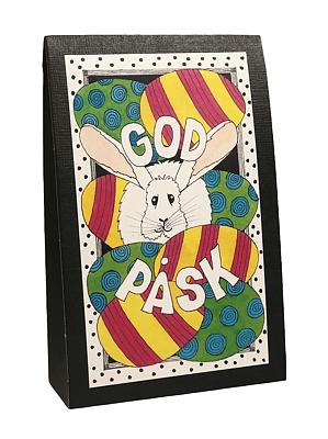 Bild av Presentask med choklad 'God Påsk'
