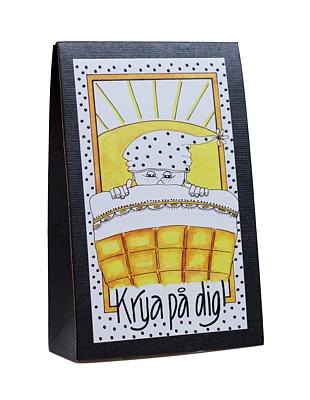 Bild av Presentask med choklad 'Krya på Dig'