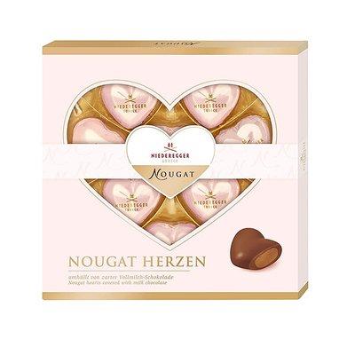 Bild av CHOKLADBUDET - Hjärtformade nougatpraliner