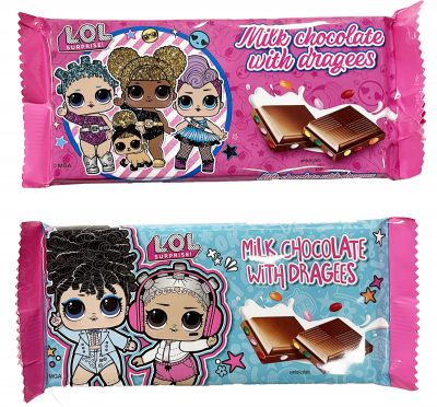 Bild av L.O.L. Surprise Mjölkchokladkaka 90g