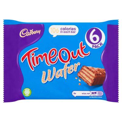 Bild av Cadbury Timeout 6pack 127g