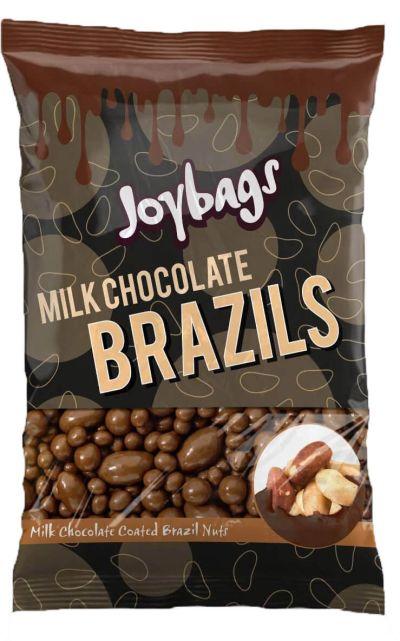 Bild av Joybags Milk Chocolate Brazils 150g