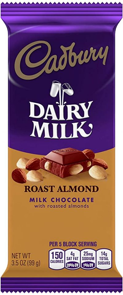 Bild av Cadbury Dairy Milk Roast Almond 99g