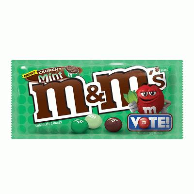 Bild av M&Ms Crunchy Mint 38g