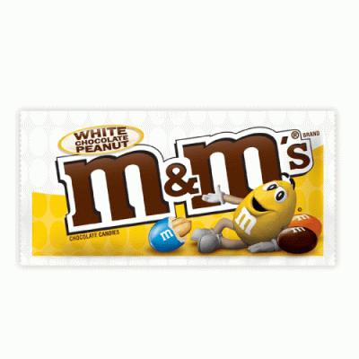 Bild av M&Ms White Chocolate Peanut 38.6g