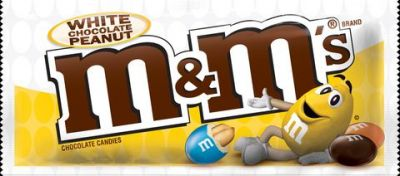Bild av M&Ms White Chocolate Peanut 79g
