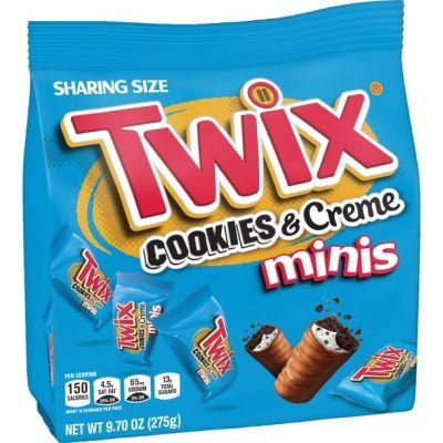 Bild av Twix Cookies N Cream Minis Bag 275g