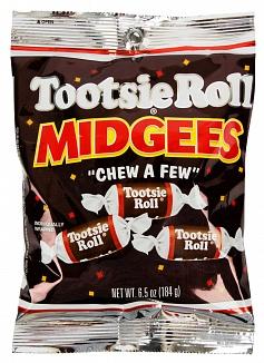 Bild av Tootsie Roll Midgees 184gram