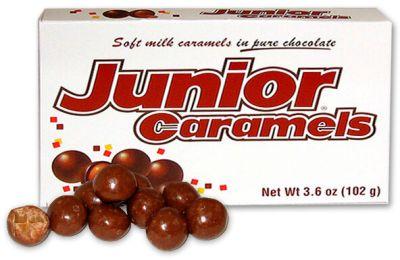 Bild av Junior Caramels Theatre Box 102gram