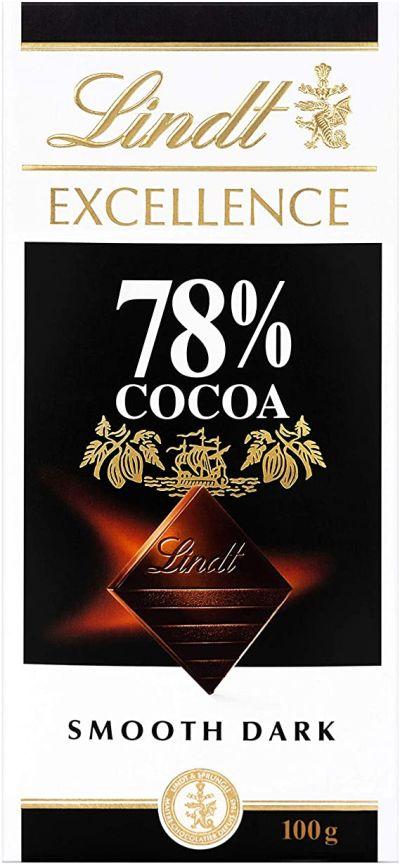 Bild av Lindt Excellence 78% Mörk Choklad 100g