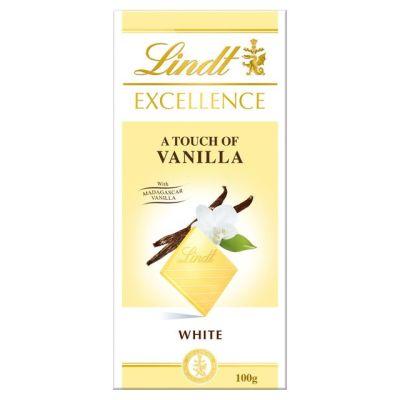 Bild av Lindt Excellence White Vanilla 100g