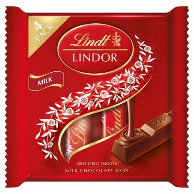 Bild av Lindor Milk Chocolate Bars 100g