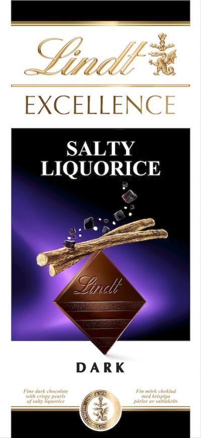 Bild av Lindt Excellence Salty Liquorice 100g