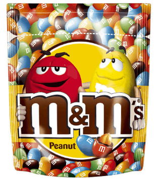 Bild av M&Ms Peanut 165gram