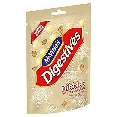 Bild av McVities Digestives Nibbles White Chocolate 120g