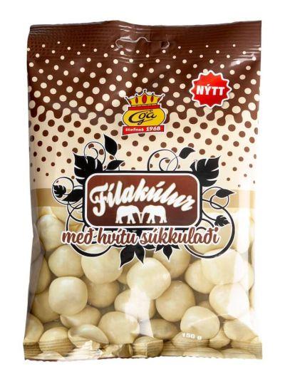 Bild av Fílakúlur med vit choklad 150g