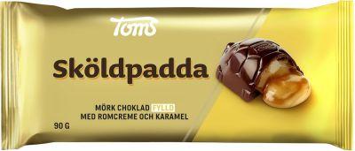 Bild av Toms Chokladkaka Sköldpadda 90g