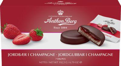 Bild av Anthon Berg Jordgubbar i Champagne 192g