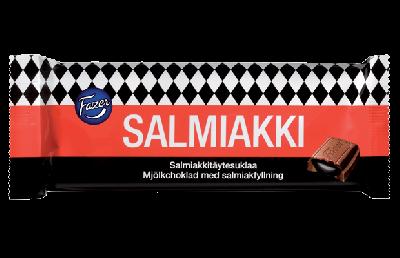 Bild av Fazer Salmiakki Milk Chocolate 100g
