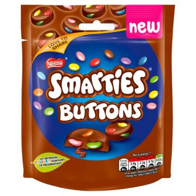 Bild av Nestle Smarties Buttons Milk Chocolate 85g