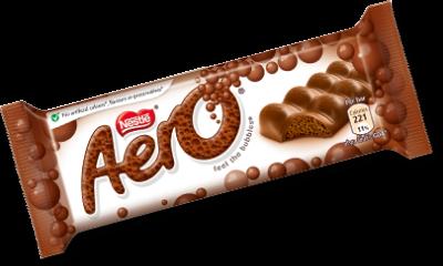 Bild av Aero Bubbly Milk Choc Bar 36g