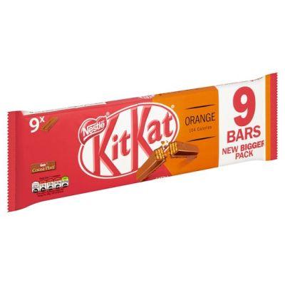 Bild av KitKat Orange Bar 9-Pack