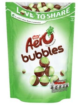 Bild av Aero Bubbles Mint Chocolate Bag 102g