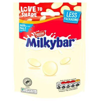 Bild av Nestle Milkybar White Chocolate Buttons 103g