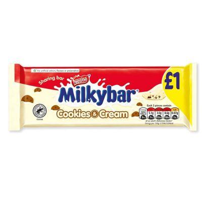 Bild av Nestle Milkybar Cookies & Cream 90g
