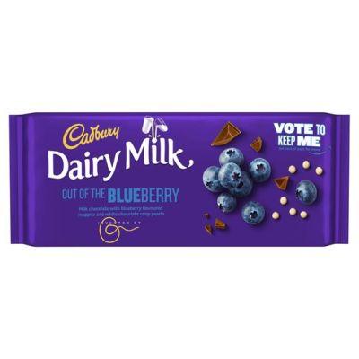 Bild av Cadbury Dairy Milk Inventor Blueberry 105g