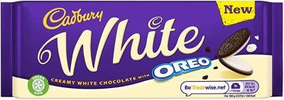 Bild av Cadbury Oreo White Chocolate 120g