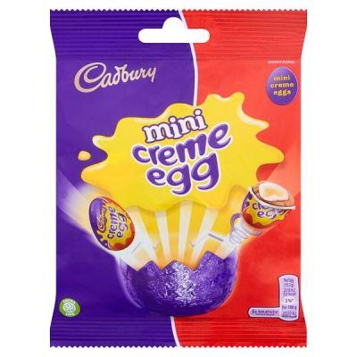Bild av Cadbury Mini Creme Egg Bag 78g