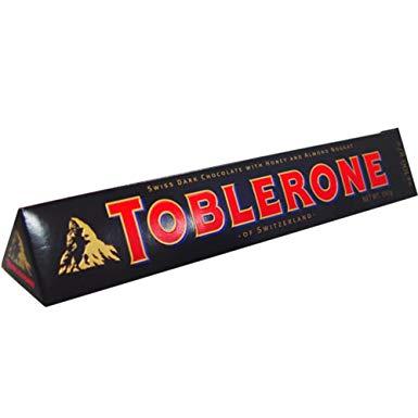 Bild av Toblerone Dark Chocolate Bar 360g