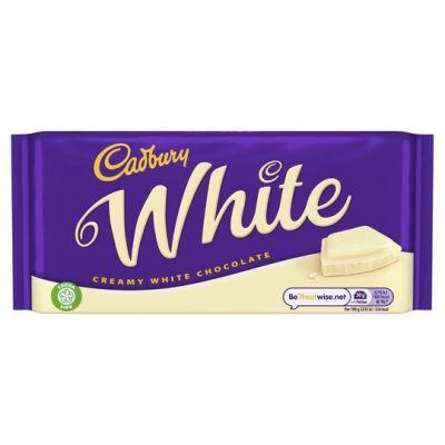 Bild av Cadbury White Chocolate 180g