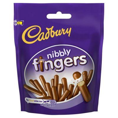Bild av Cadbury Nibbly Fingers 125g
