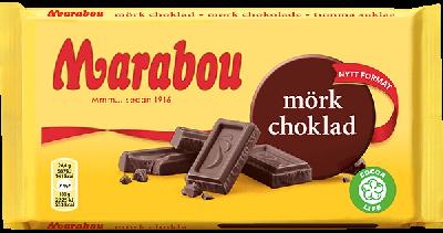 Bild av Marabou Mörk Choklad 185g